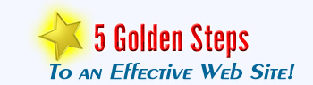 5 Golden Steps to an Effective Website